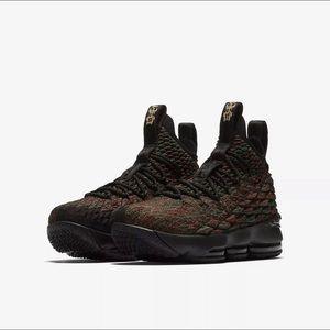 Nike Lebron XV (15) BHM Black History Month GS 6Y